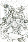 SWORD 1 Cover Pencils
