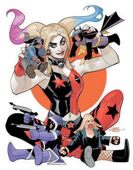 Harley Quinn and the Birds of Prey 4 Cover