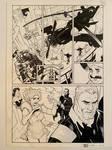 ADVENTUREMAN Vol 1 Page 8 Original Art by TerryDodson