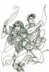 Future State:Superman Wonder 2 Cover Pencils