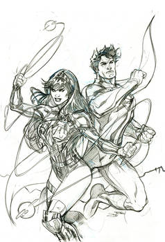 Future State:Superman Wonder 2 Cover Pencils