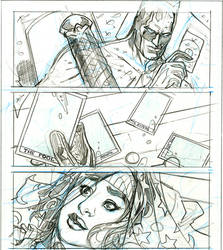 BATMAN BW #4 page 2 Pencils