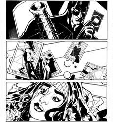 BATMAN BW #4 page 2 INKS