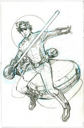 Star Wars 13 Cover Art Pencils by TerryDodson