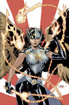 The MIGHY VALKYRIES 4 Cover