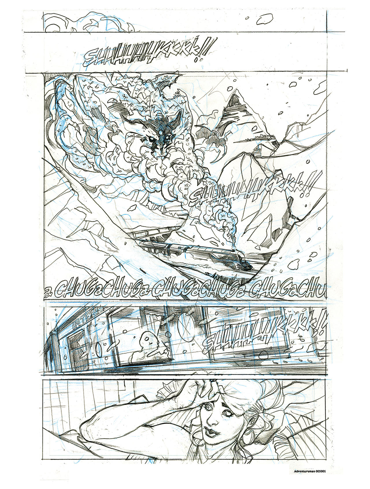ADVENTUREMAN 5 Page 1 pencils