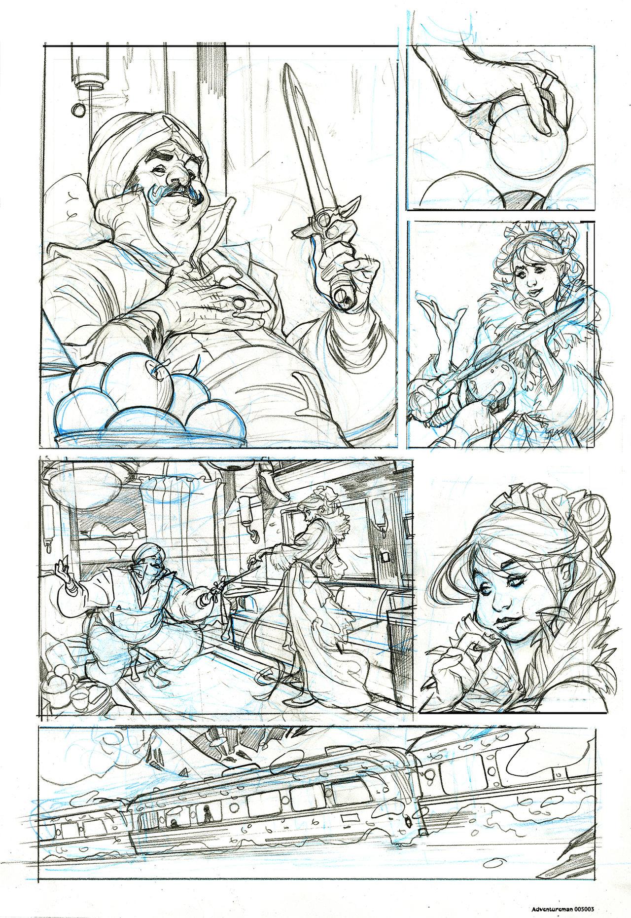 ADVENTUREMAN 5 Page 3 pencils