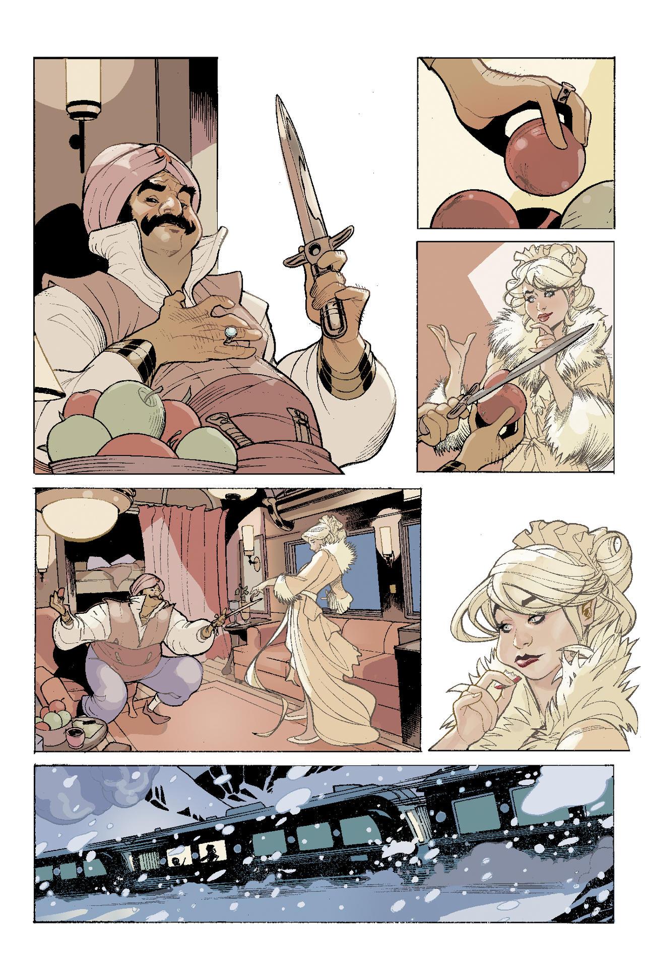 ADVENTUREMAN 5 Page 3 Color