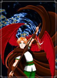 Zeldrick and his dragon