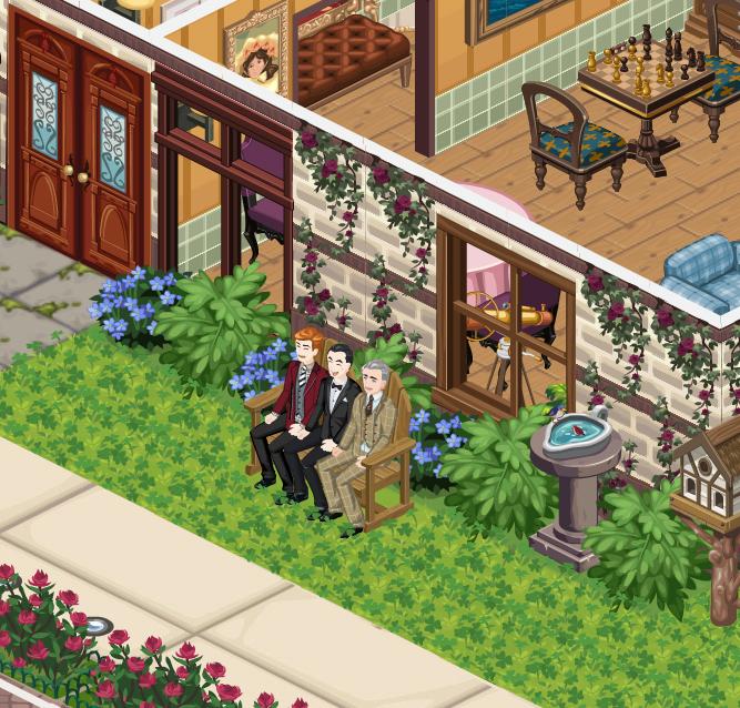 Sherlock Holmes, the Sims Social