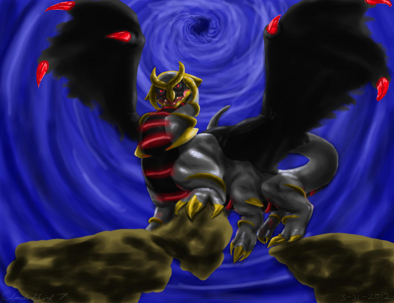No. 487 Giratina (Altered Form) by CloudsGirl7 on DeviantArt Shiny Giratina Altered Form