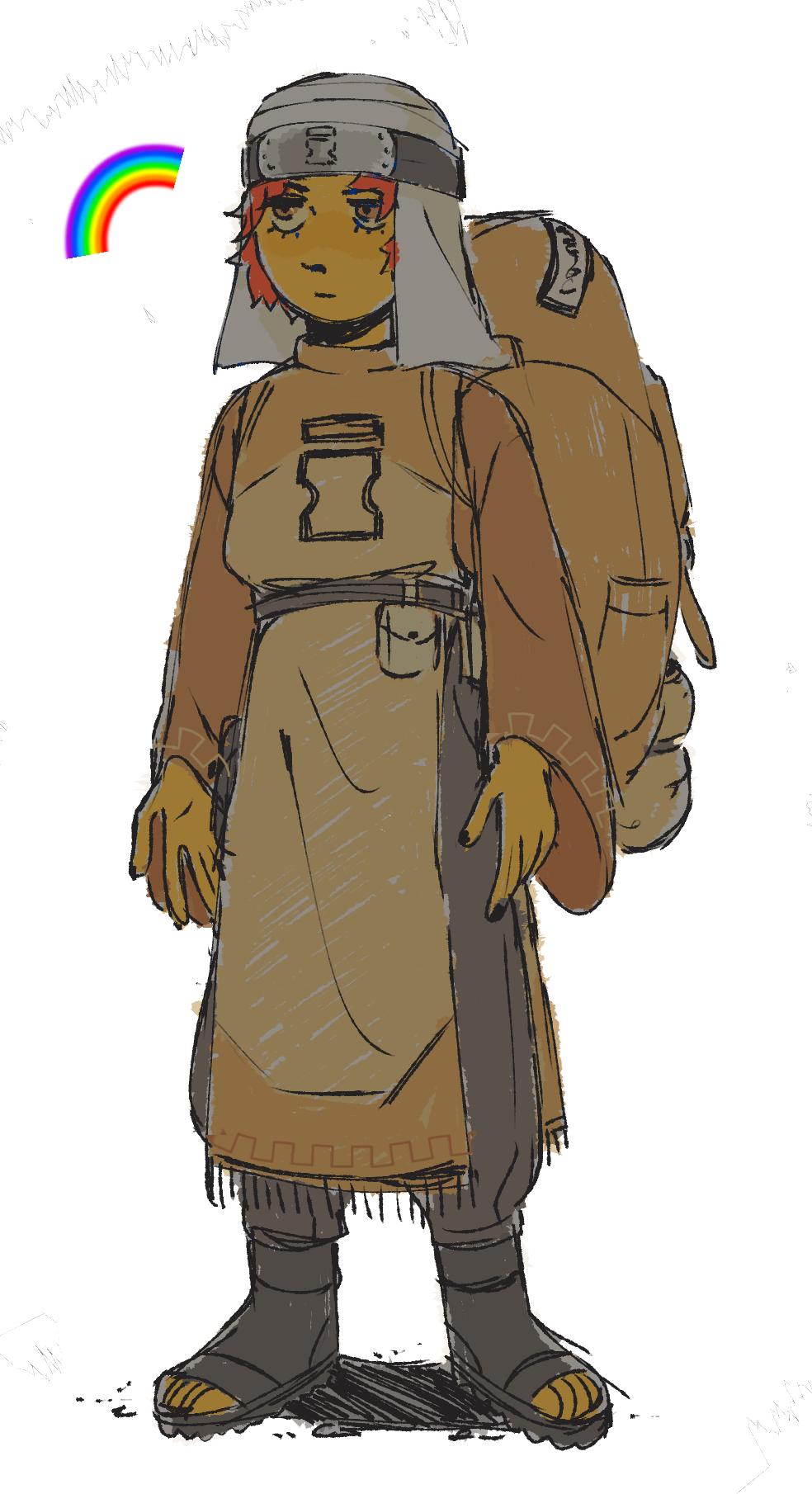sasori sketch