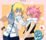 Natsu and Lucy - Fairy Tail