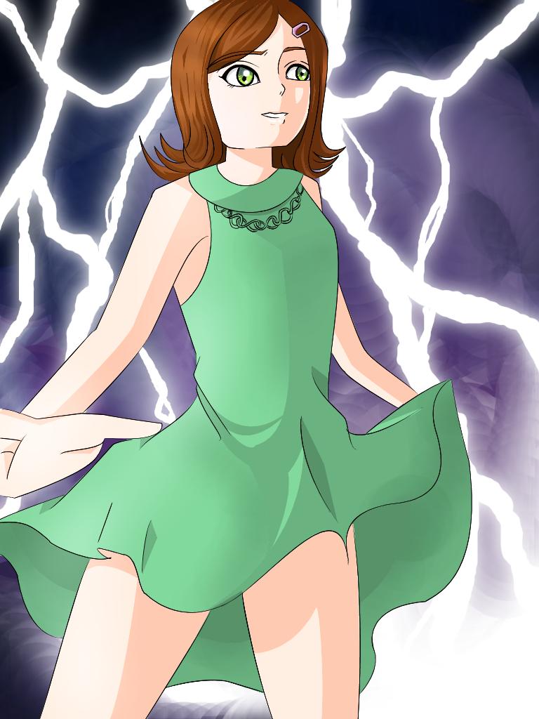 Genevieve Elit- Lightning Storm by 13clorinda