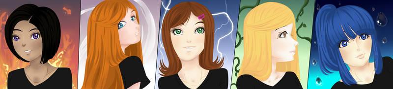 Pandora's Girls: Powers To Protect Humanity by 13clorinda