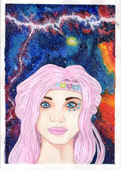 Apple in the stars- Turbo Kid by OpheliaFromHell