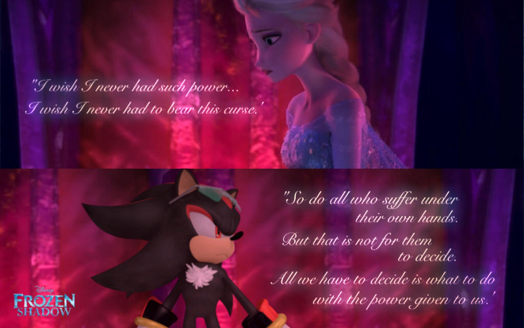 Quotes From Frozen Frozen Shadow  Moment Quotes