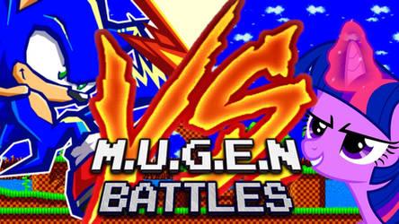 M.U.G.E.N Battles (Sonic Vs. Twilight Sparkle)