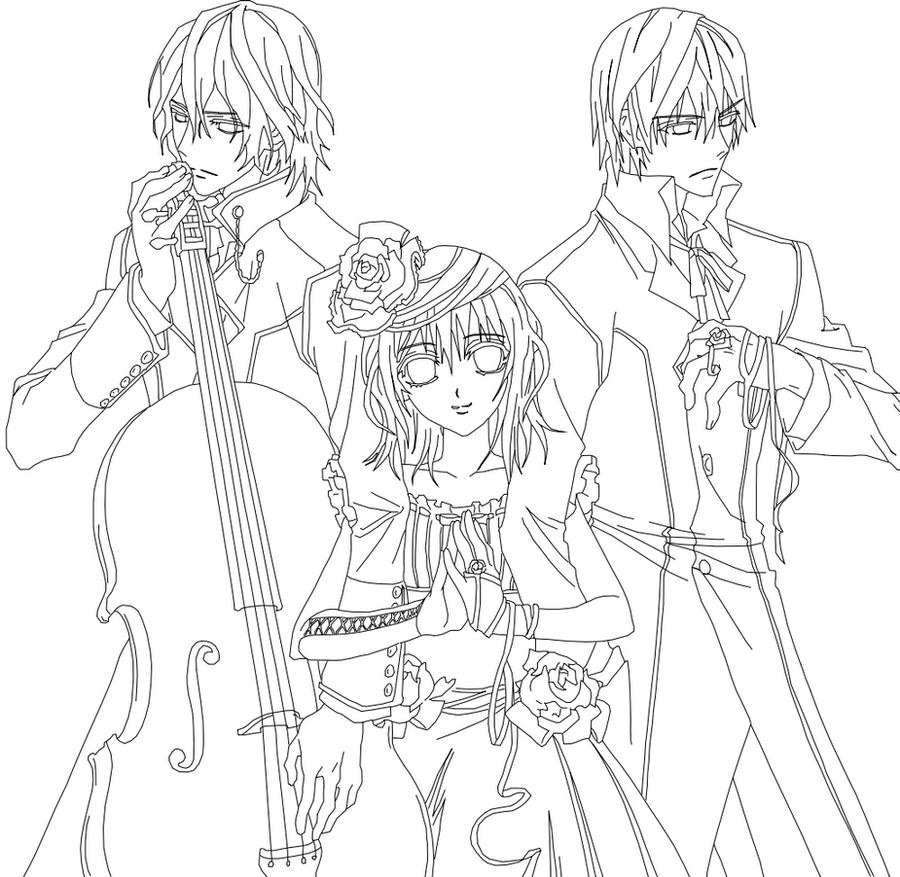 Vampire Knight Outline by YumeTsukai182 on DeviantArt