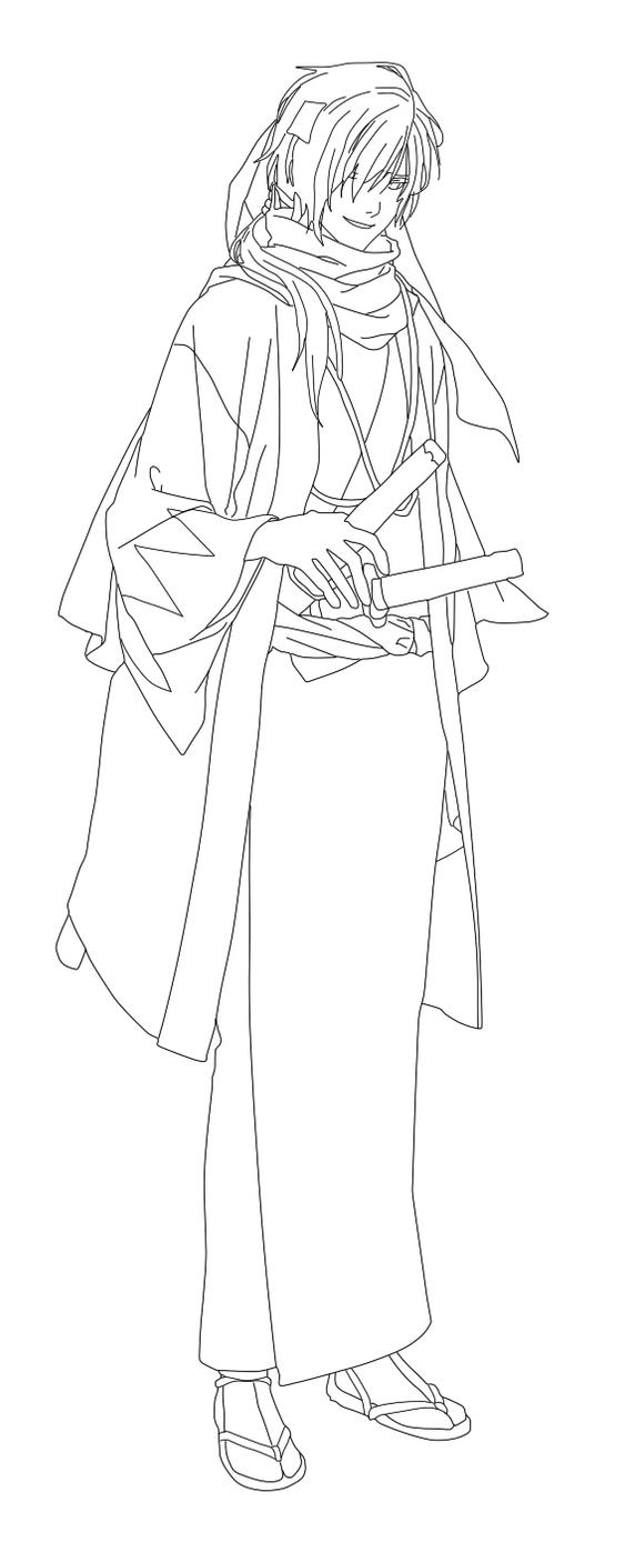 Hakuouki shinsengumi kitan 2b by yumetsukai182 on deviantart for Beatrice doesn t want to coloring page