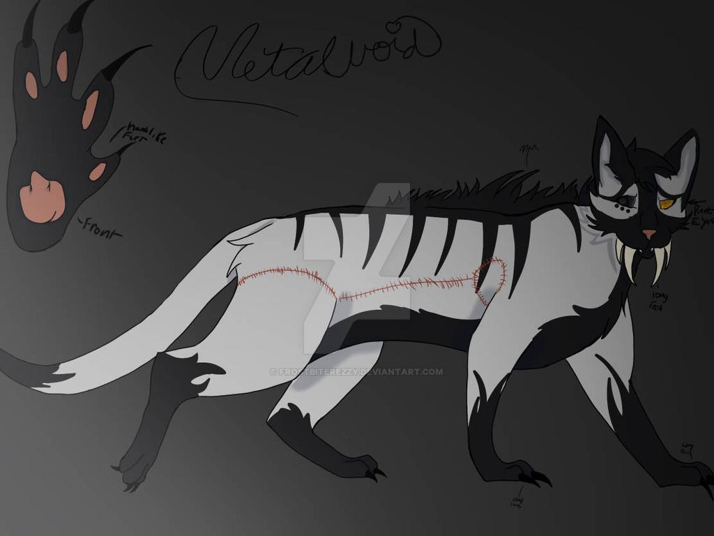 Metalvoid ref, Kik oc. by FrostBiteRezzy