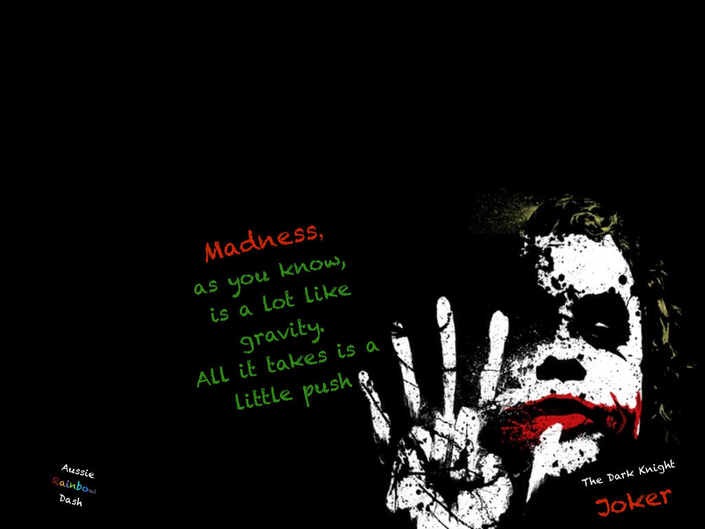 The Dark Knight Joker Quotes Www Topsimages Com