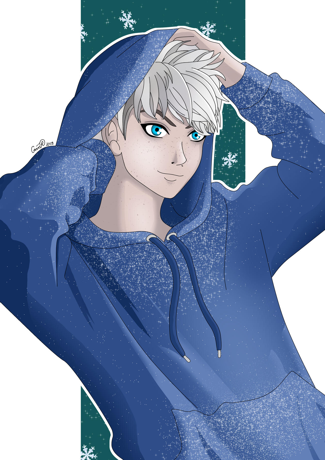 My Name Is Frost Jack Frost By Cain88 On Deviantart