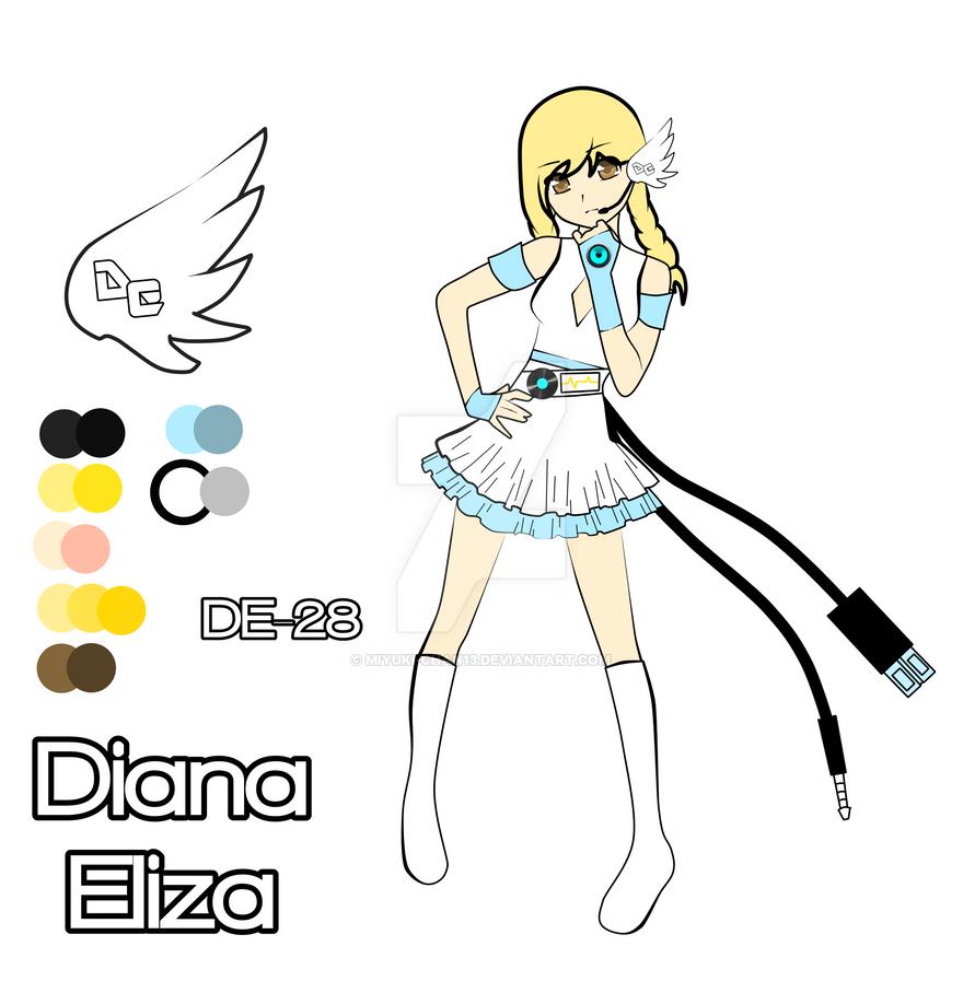 [UTAU] Diana Eliza UPDATE / ACT 2 (?) by miyuki-chan13