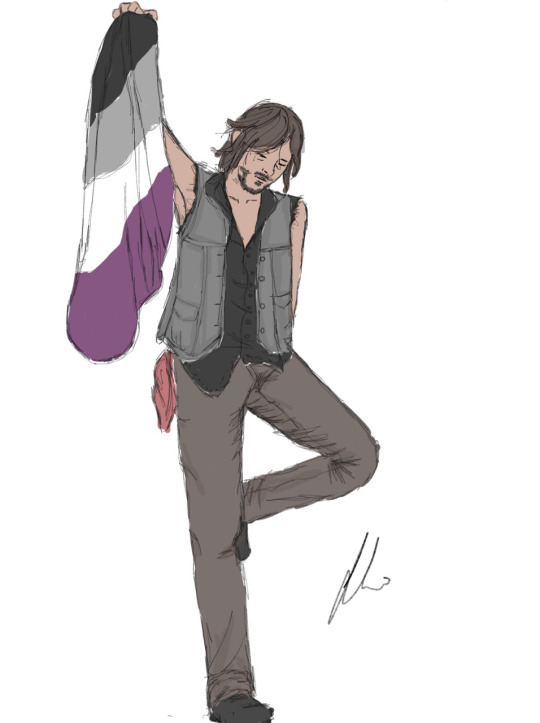 Asexual Daryl! by Amphata