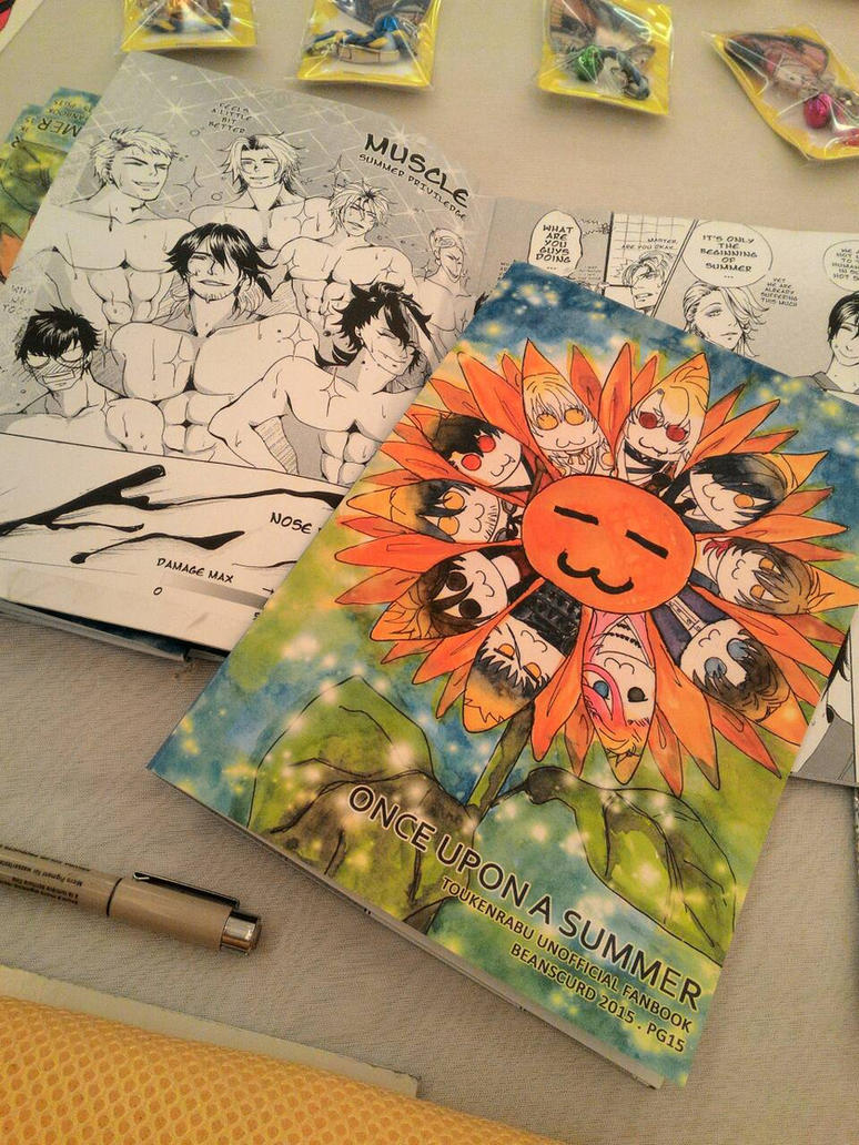 TOUKENRANBU UNOFFICIAL FANBOOK ONCE UPON A SUMMER by beanscurd