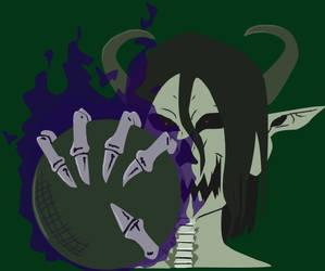 Greenwood Grendel's deathball logo by Scythena