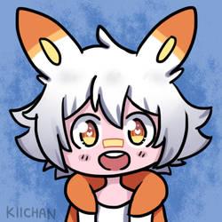 Scorbunny Kiibi by Kira-Nyan