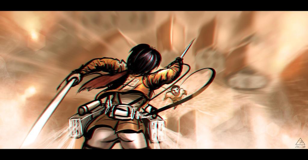 Attack On Titan Fan art by TheFearMaster on DeviantArt