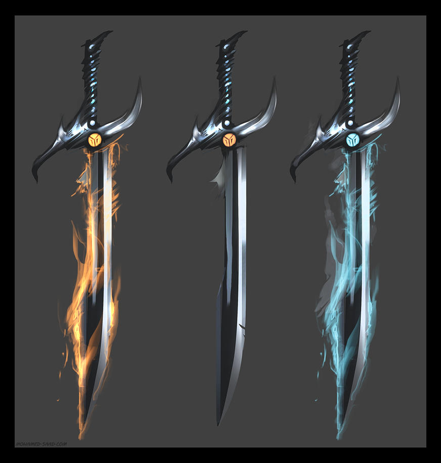 Dragon Swords By Thefearmaster On Deviantart