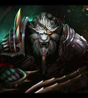 daily painting : Rengar by TheFearMaster
