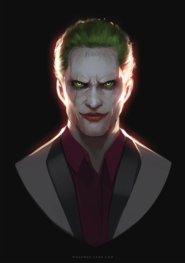 the joker by thefearmaster on deviantart
