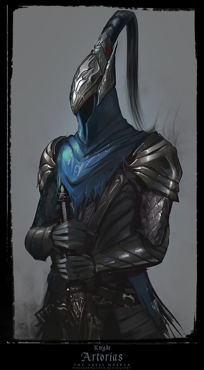 Knight Artorias the abysswalker by TheFearMaster