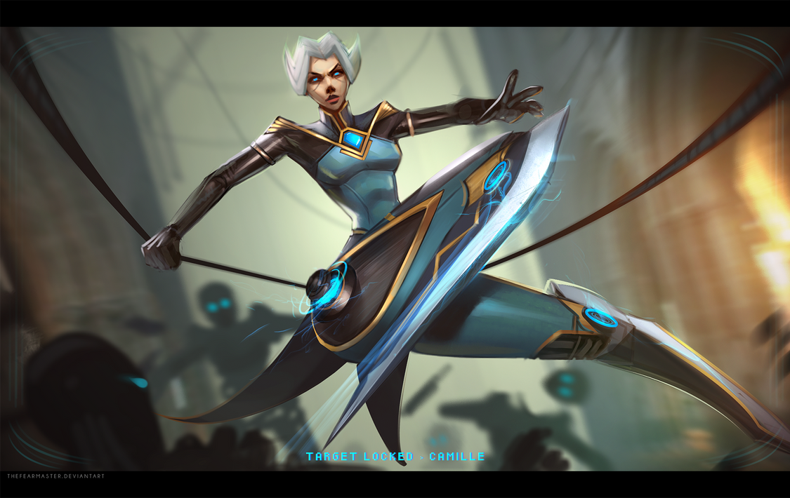 Camille, the Steel Shadow by TheFearMaster