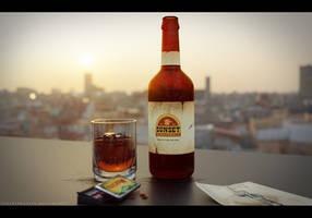 Sunset sarsaparilla by TheFearMaster