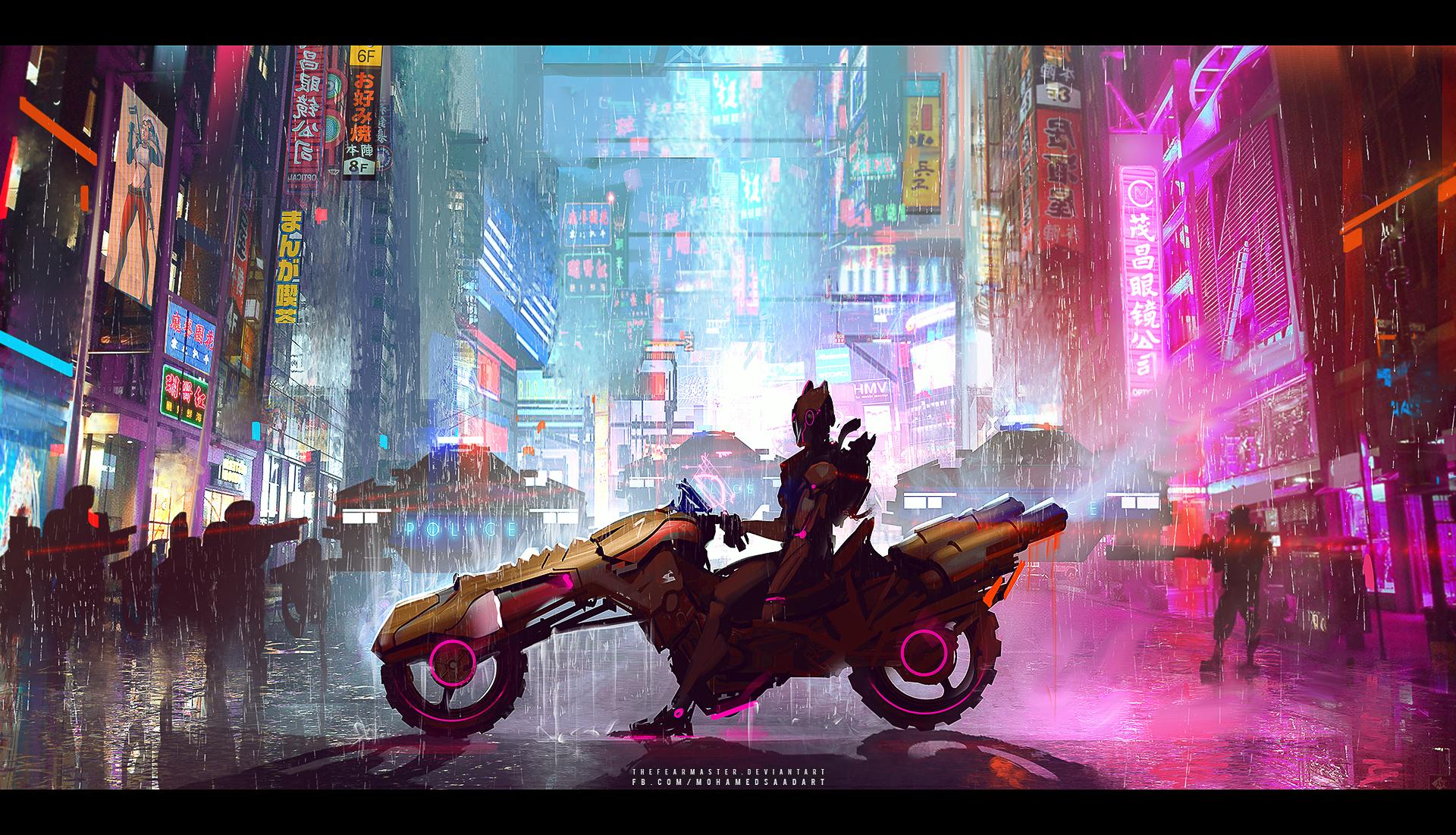 Project Vayne Fanart I Made And Animated Rain Version Leagueoflegends