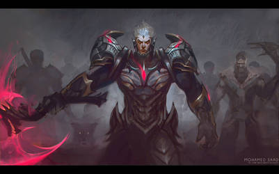 God king Darius by TheFearMaster