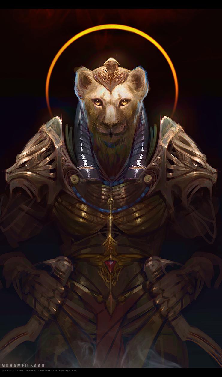 Sekhmet the Egyptian warrior goddess