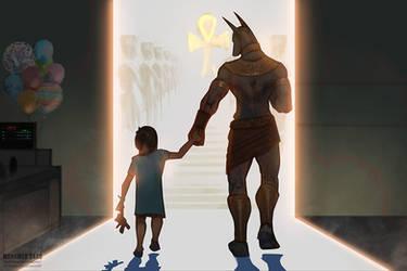 Anubis The Guiding Guardian of Spirits.