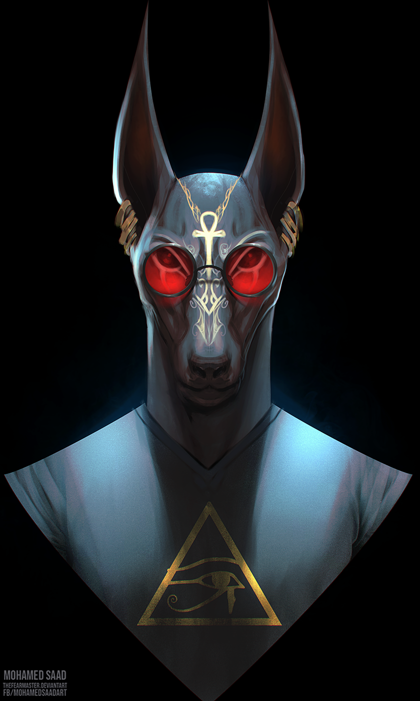anubis but this time with cool round glasses :3