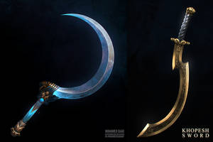 Khopesh and Shotel - personal pieces