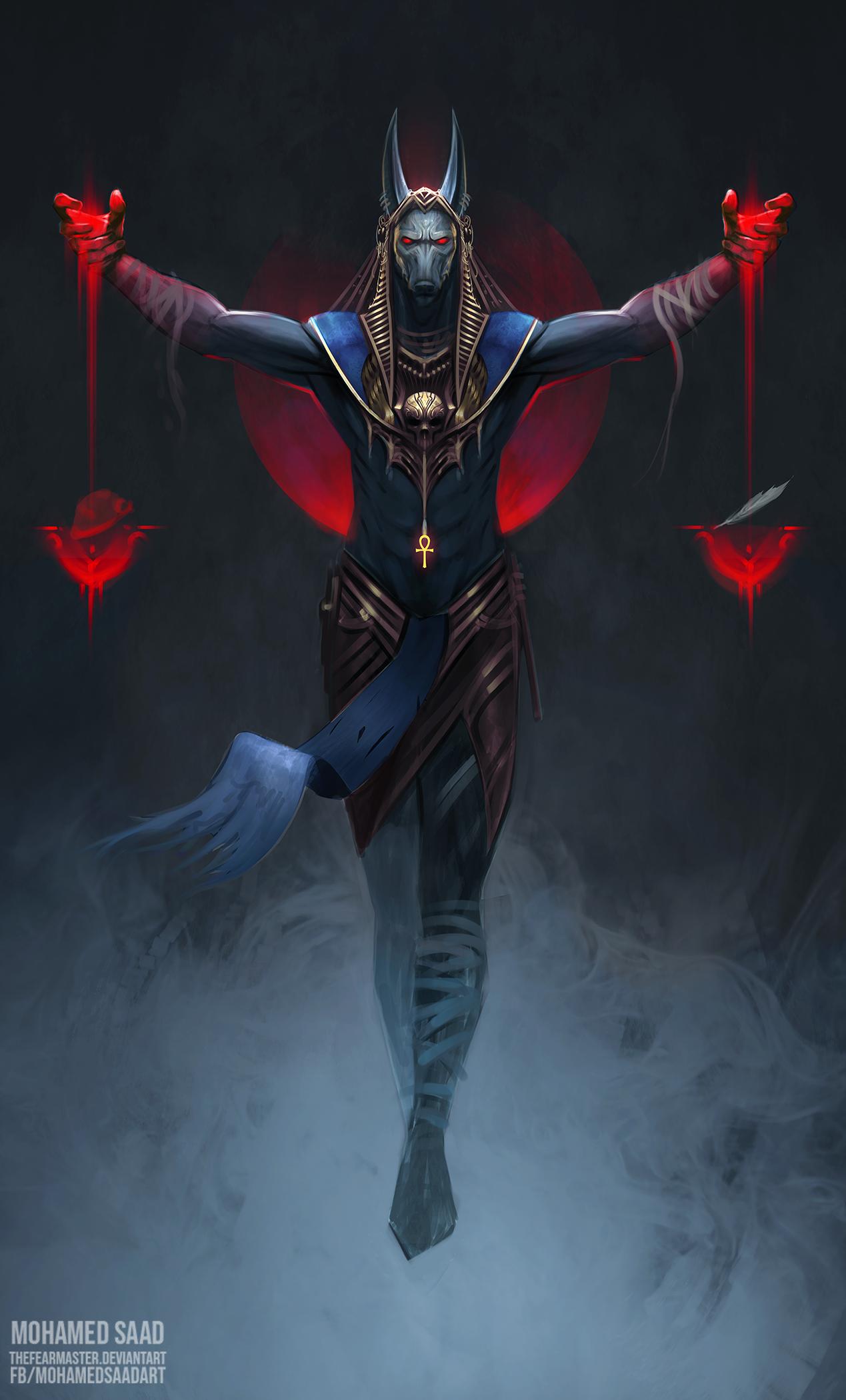 Anubis - Judge of the dead