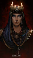 daughter of the order of Anubis + Patreon PSD