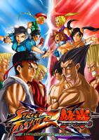 Street Fighter x Tekken by kevzter