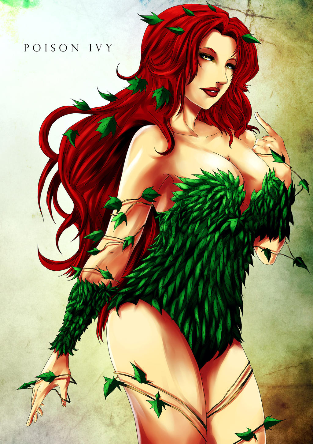 Poison Ivy by kevzter