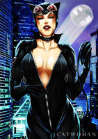 Catwoman by kevzter